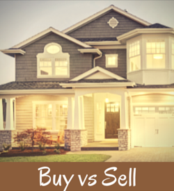 Buy or Sell a Home First
