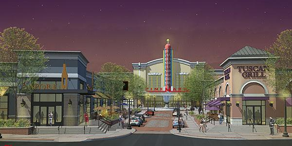 Towson Square Bethesda, MD Rendering