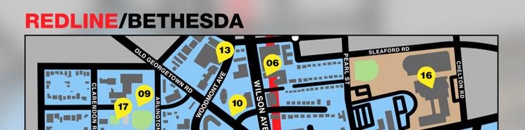 Bethesda, Maryland Community Map